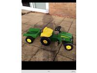 John Deere - kids - Tractor & Trailer
