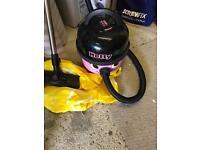 Pink hetty vacuum cleaner