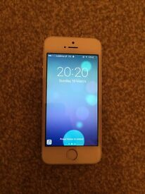 iPhone 5s white/silver