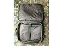 Black laptop bag