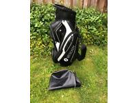 Motocaddy leather Golf bag vgc