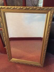 ANTIQUE STYLE HEAVY MIRROR