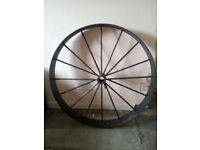 Vintage Cartwheel, 16 spoke, 3ft diameter Iron with Center hub