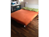 Sofa bed 3 seater pulls out to make super king size bed