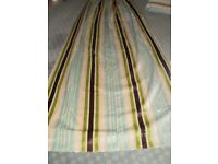 Three pairs full length fully lined, superb quality curtains