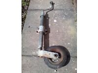 Jockey wheel for trailer or caravan etc