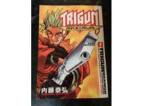 'TRIGUN' MAXIMUM 'HERO RETURNS' ANIME MANGA COLLECTABLE BOOK