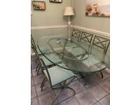 Genuine Pierre Vandel Dining Table and 6 Chairs