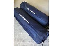 2x Ultrasport self-inflating mat - 6cm thick