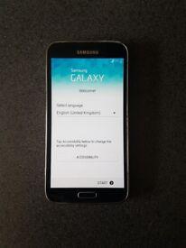 Samsung s5 black phone
