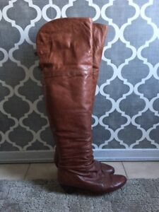 Rudsak Leather Over the Knee Boots - Size 7