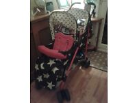 Cossatto double buggy