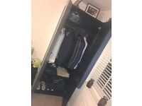 Ikea Pax Wardrobe Black/Brown