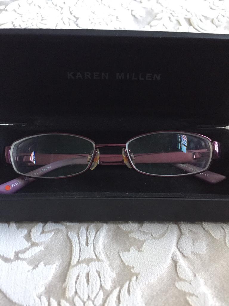 12352bc18fee8 2 pairs of designer glasses frames 1 Karen Millen 1 DKNY