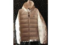 Brand New Ladies White Adidas UK16 Down Jacket Winter Coat RRP £89.99