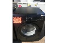 BUSH 8KG DIGITAL SCREEN WASHING MACHINE IN BLACK