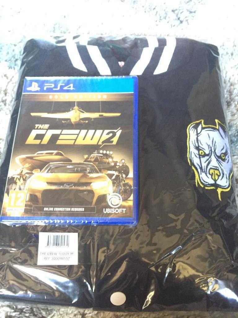 The Crew 2 Gold Edition And Teddy Jacket Size M