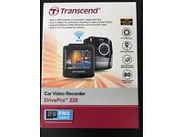 Transcend DrivePro 220 with GPS and warranty RRP £120