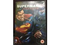 Superman unbound animated dvd