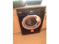 Hoover Dyn9144 D28X 9 Kg 1400Rpm Energy Efficient Washer, Black Gloss, Chrome, repair or parts