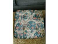 large footstool /puffee