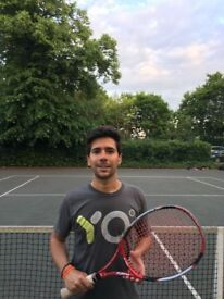 Tennis lessons - SW London