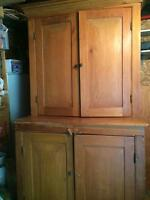 Period Canadian hutch