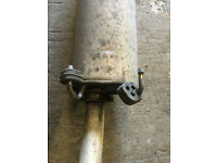 exhaust system iveco daily 2005