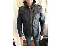 Gio Goi leather jacket