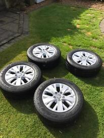 VW T5 Highline Wheels