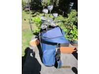 Full Set Donnay Golf Clubs With Bag