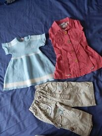 Baby Girls bundle 6-9 Mths (4)