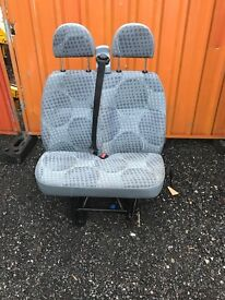 Ford transit mk7 double passenger seat in good condition breaking