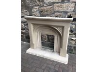 Stone fire place surrand and hearth