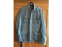 Mens Superdry Jacket Pale Blue-Grey size XL