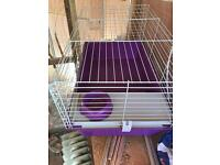 Indoor Guinea pig cage with indoor / outdoor run