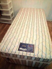 Myers Myerpaedic - 3' single bed - Little Used.