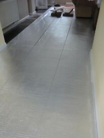 Laminate Flooring Underlay - Used