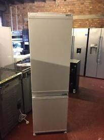 NEW-NEW Beko integrated white fridge freezers Built-in refrigeration warranty included prp £389.99