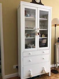 White Ikea cabinet