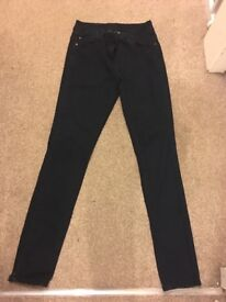 George 'G21' dark wash skinny jeans size 10