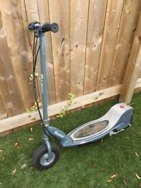 Razor E300 electric scooter. (The fast one)