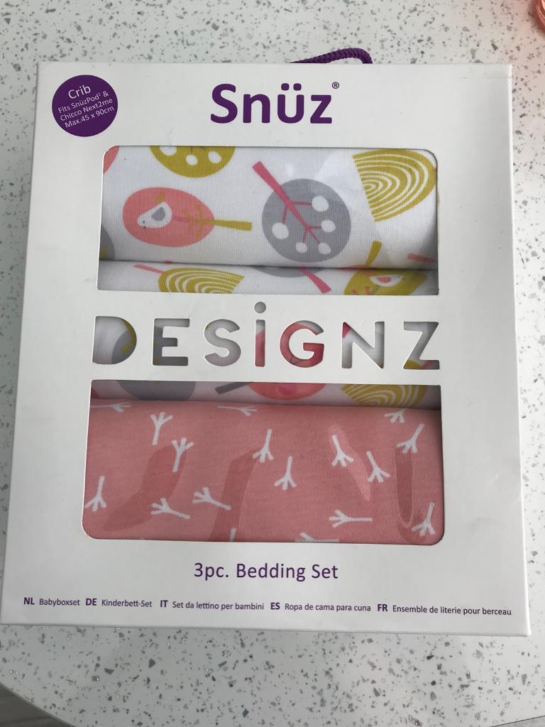 New Snuzpod Crib Bedding Set In Woodthorpe Nottinghamshire Gumtree