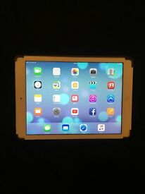 Apple iPad Air 16gb 4G cellular/WiFi: White with Belkin case