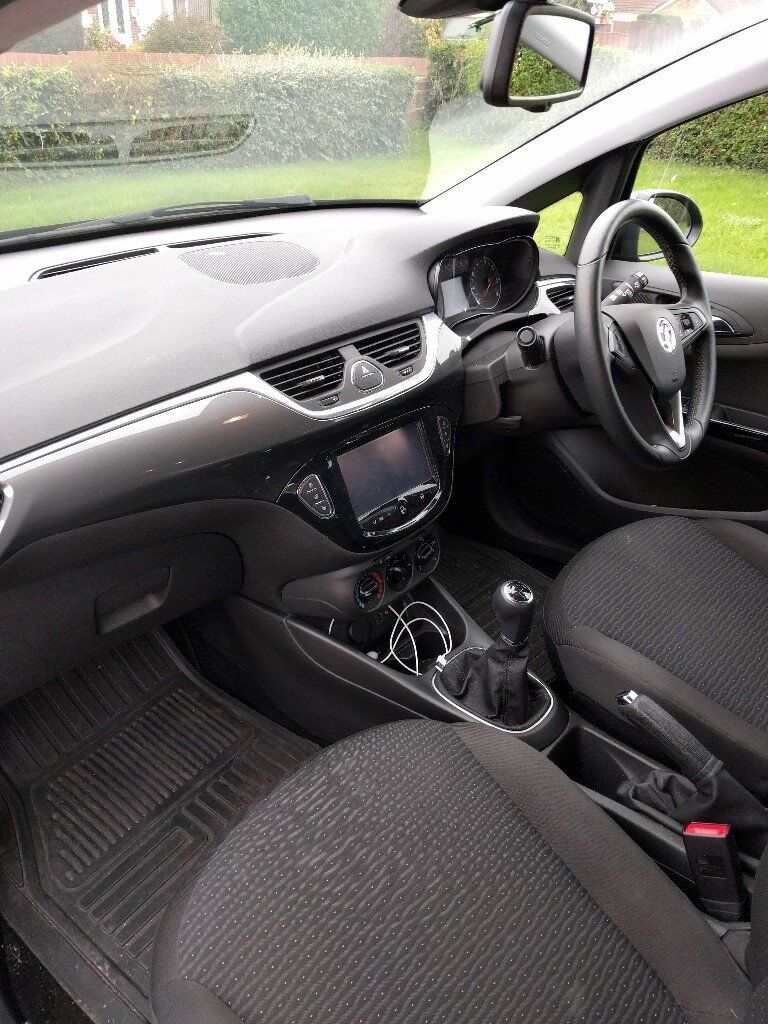 Vauxhall Corsa 1.4i Ecoflex Energy 5 dr (A/C), Nov 2015, with factory fitted Reversing Sensors