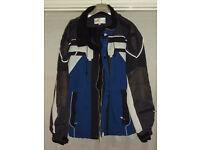 Crane Blue/Black/White ski jacket. Size XL