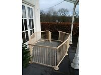 PLAYPEN suitable for children or pets or as room divider.