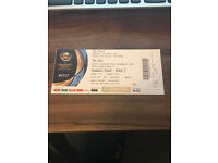 1x Champions Trophy Final Tickets