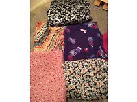 7/8 Metres Dressmaking Fabrics Bundle sewing