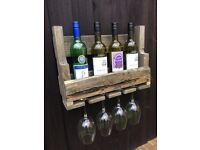 Hand made wine rack